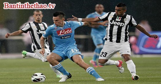 Trận đấu giữa Napoli - Juventus