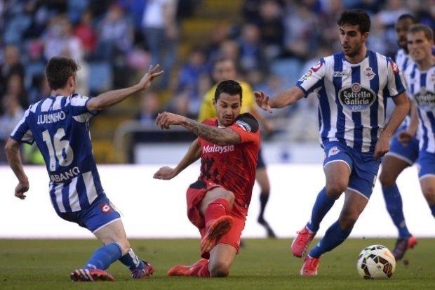 Sevilla - Deportivo ngày 8/4/2017