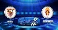Link sopcast Sevilla - Sporting Gijon ngày 2/4/2017 Vòng 29 giải VĐQG Tây Ban Nha TBN La Liga