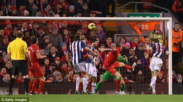 West Brom – Liverpool  ngày 16/4/2017 Vòng 33 giải Ngoại Hạng Anh