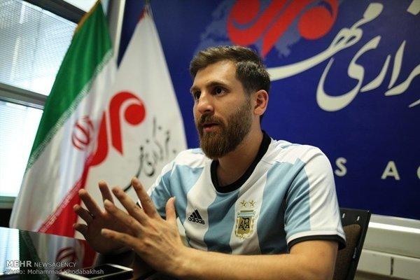 Thanh niên người Iran có khuôn mặt khá giống với Messi
