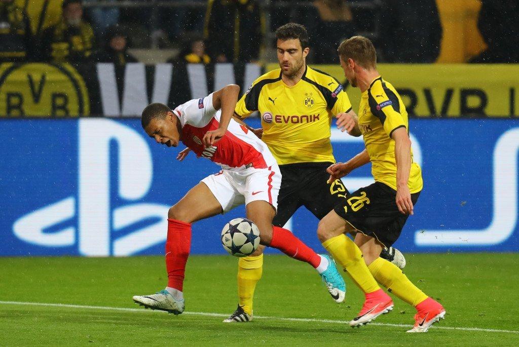 Monaco - Dortmund ngày 20/4/2017 vòng tứ kết  lượt về Cup C1