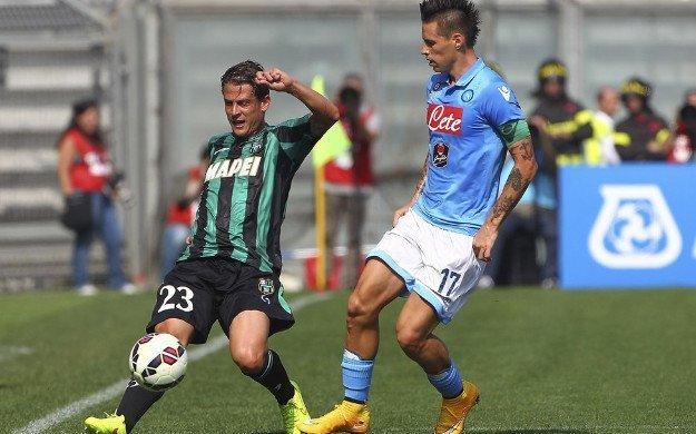 Đánh bại Sassuolo, Napoli sẽ tạm thời chiếm vị trí thứ 2 của Roma