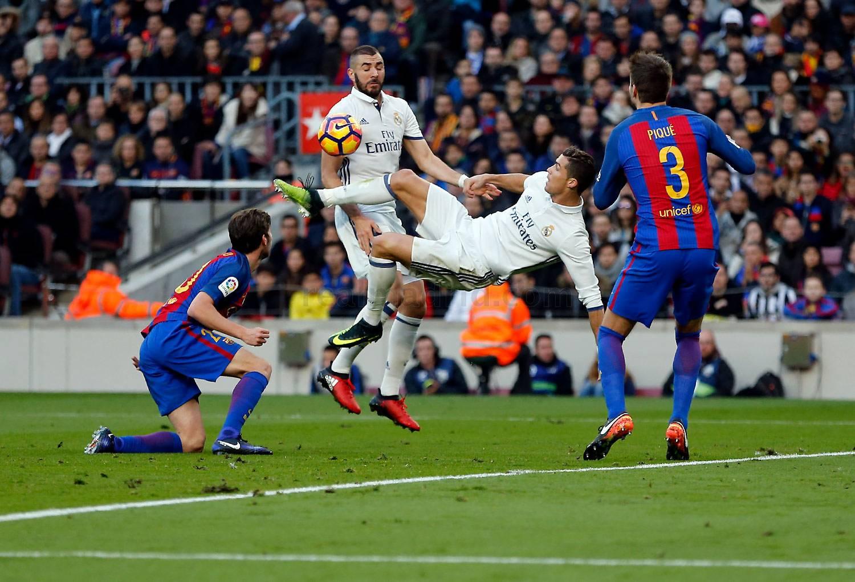 Real Madrid - Barcelona ngày 24/4/2017 Vòng 33 giải VĐQG Tây Ban Nha TBN La Liga