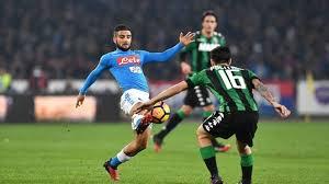 Sassuolo - Napoli ngày 23/4/2017 Vòng 33 giải VĐQG Italia Ý serie A