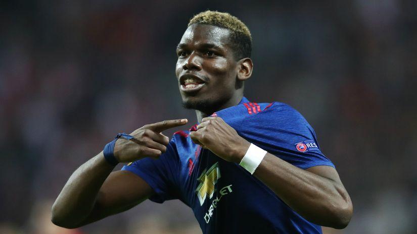 Pogba đã đưa Man United lọt vào chung kết League Cup