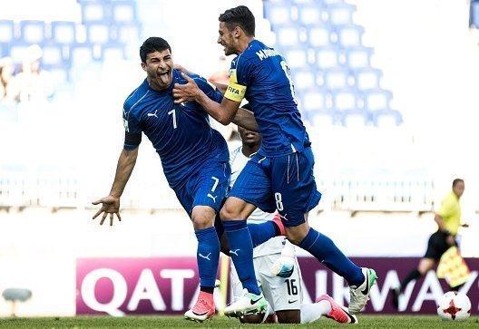 Hai sao trẻ thuộc biên chế Juventus ghi bàn, U20 Italia đánh bại U20 Nam Phi 2-0