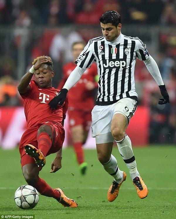 Nếu trở lại Italia thi đấu cho AC Milan, Morata sẽ kiếm được 125.000 bảng/tuần