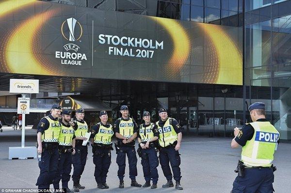 An ninh đã được siết chặt cho trận chung kết Europa League