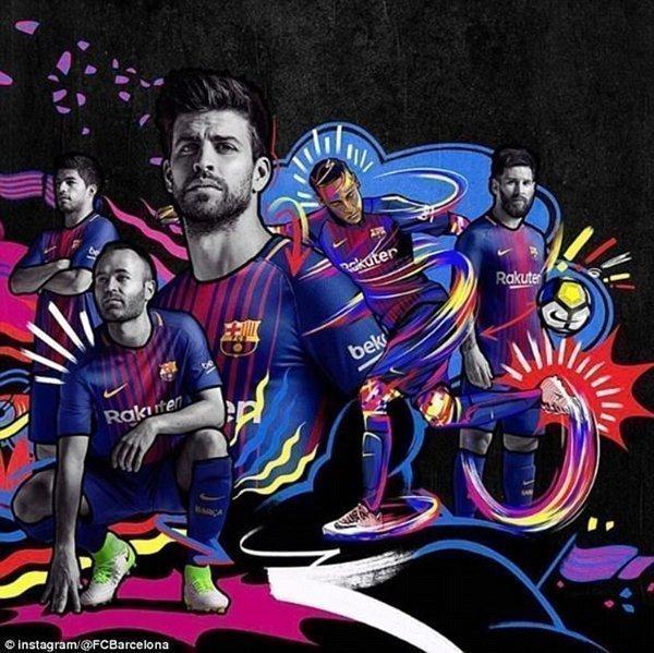 Những ngôi sao hàng đầu của Barcelona đều góp mặt trong buổi lễ giới thiệu