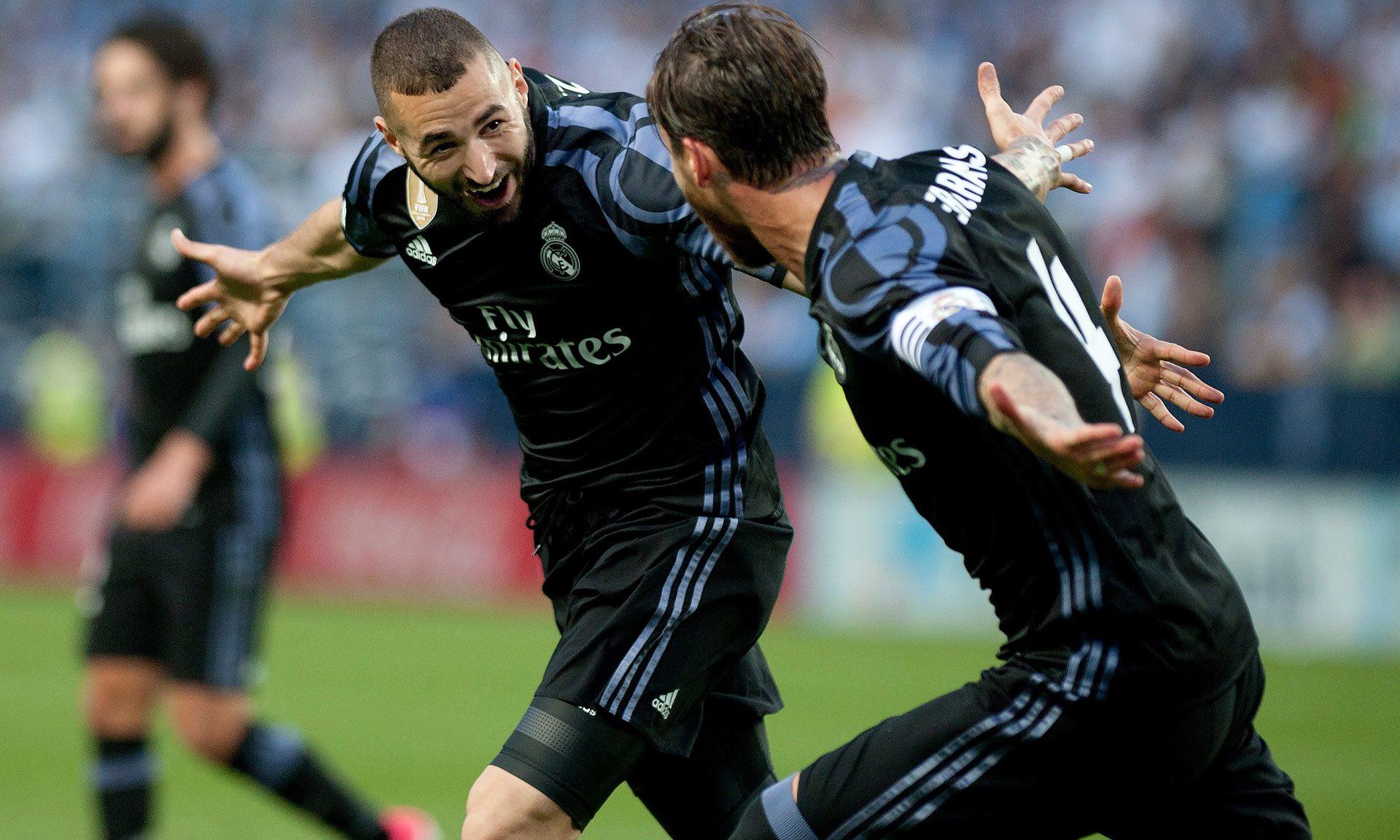 Bàn thắng thứ hai của Benzema đã kết liễu hy vọng của cả Malaga lẫn Barcelona