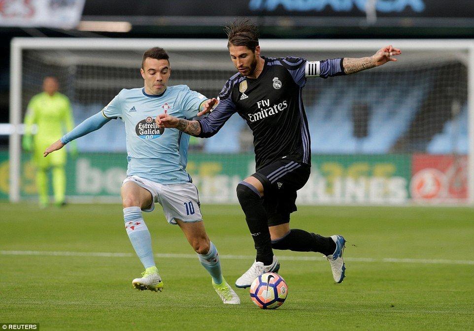Celta Vigo rất muốn giành chiến thắng trước Real Madrid khi họ muốn Barcelona vô địch