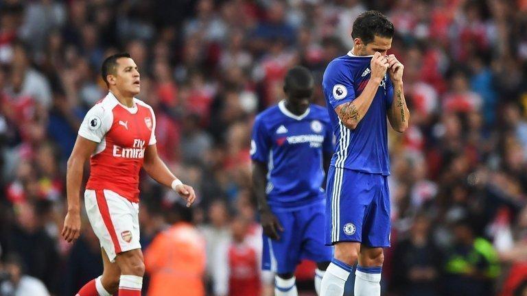 Nỗi thất vọng sau trận thua Arsenal