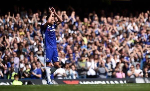 26 phút thi đấu tượng trưng cho chiếc áo số 26 mà Terry gắn bó trong 17 năm tại Stamford Bridge