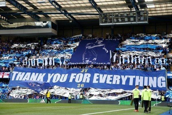 Thông điệp từ các CĐV Chelsea dành cho Terry