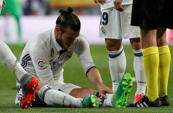 Gareth Bale hiện đang dưỡng thương