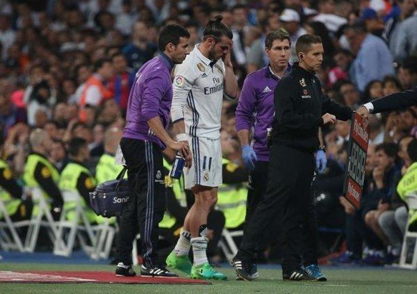Chấn thương khiến Gareth Bale không còn được trọng dụng ở Real Madrid