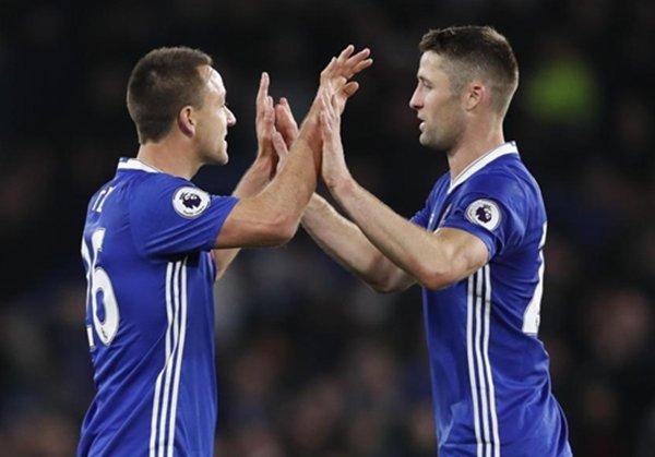 Gary Cahill nhiều khả năng sẽ là cầu thủ thay thế John Terry đảm nhận vai trò đội trưởng của Chelsea ở mùa tới