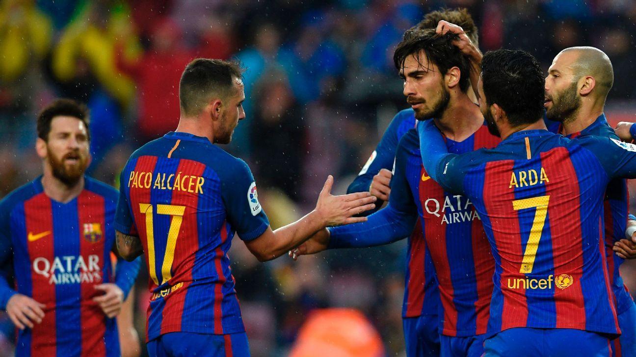Andre Gomes và Paco Alcacer là 2 thương vụ gây thất vọng nhất