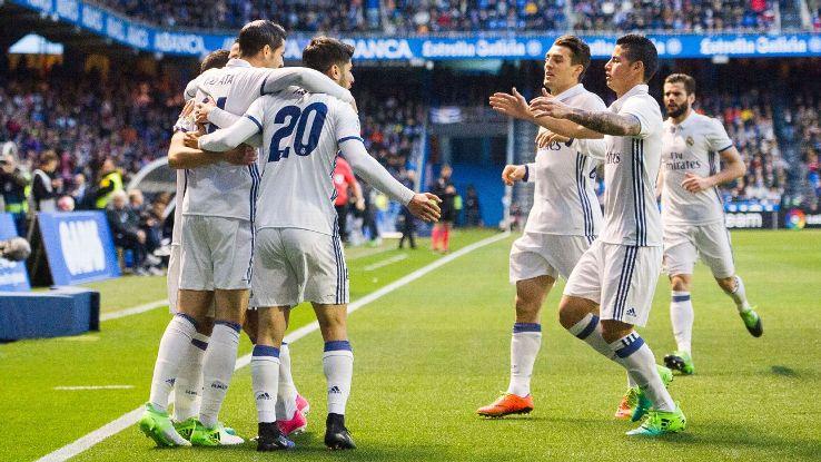 Đội hình B sẽ giành về 3 điểm nữa cho Real Madrid?