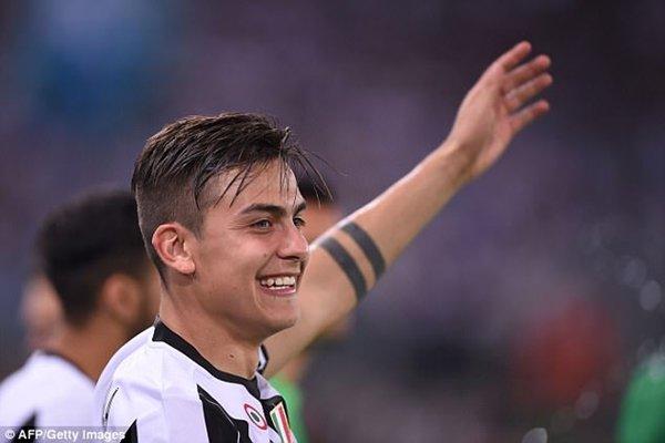 Inter Milan từng liên hệ mua Pablo Dybala nhưng thất bại trong cuộc đua với Juventus