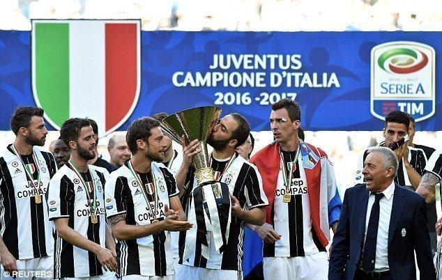 Juventus giành Scudetto lần thứ 6 liên tiếp