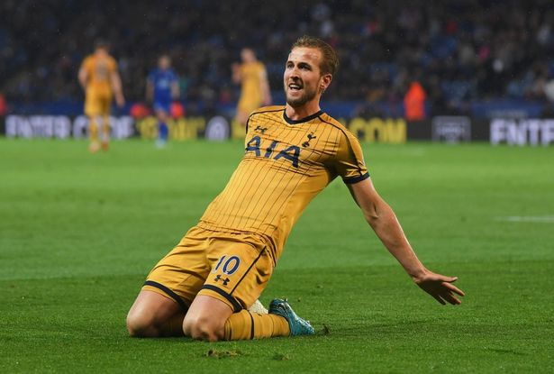 Kane dẫn đầu danh sách ghi bàn ở Premier League