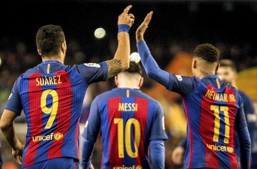 Barca lại phải nhờ đến những bàn thắng của MSN để giành 3 điểm
