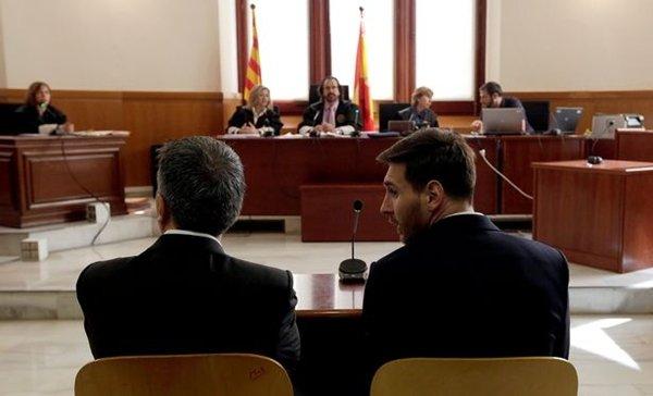 Lionel Messi trong phiên phúc thẩm, kháng cáo án phạt 21 tháng tù