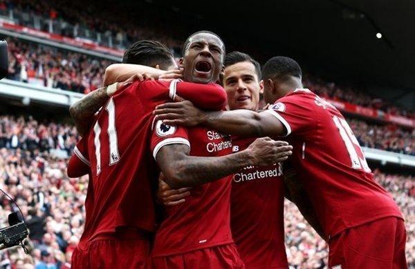 Điều tương tự xảy ra với Liverpool khi họ cùng nằm ở nhóm 3 với Tottenham