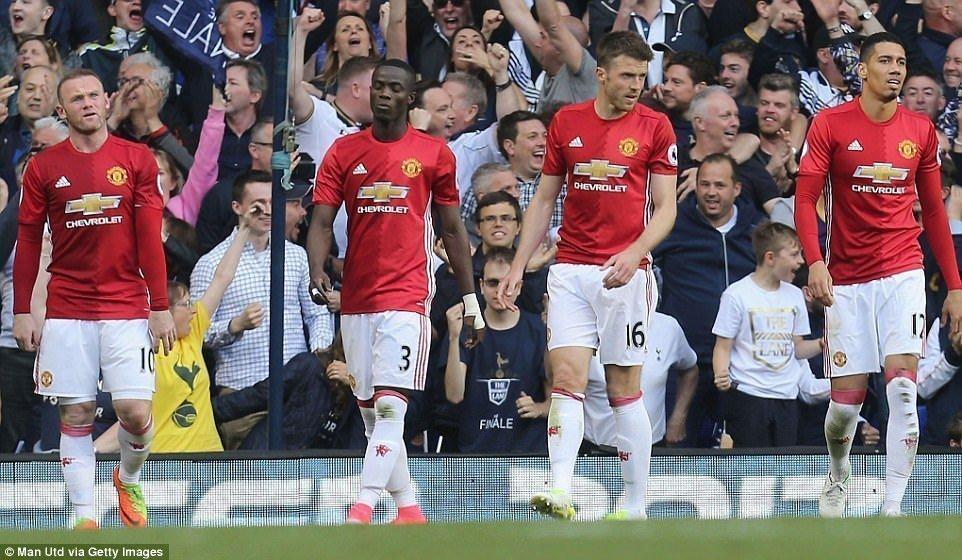 Man United đã thua toàn diện trước Tottenham