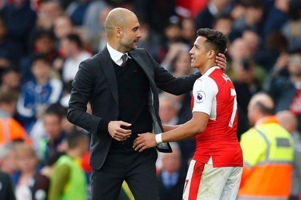 Alexis Sanchez của Arsenal là một trong những ưu tiên tuyển mộ hàng đầu của Guardiola