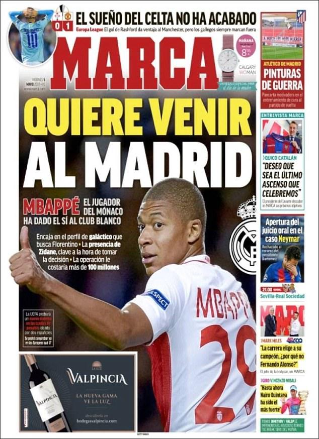 Có khá nhiều lý do để Mbappe chọn Real Madrid