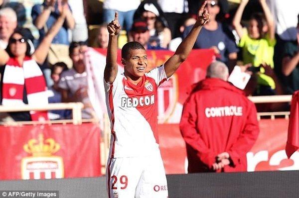 Monaco đòi 110 triệu bảng cho Kylian Mbappe