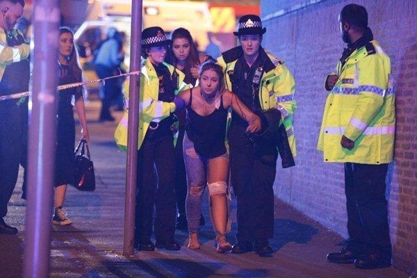 Một trong những nạn nhân bị thương.