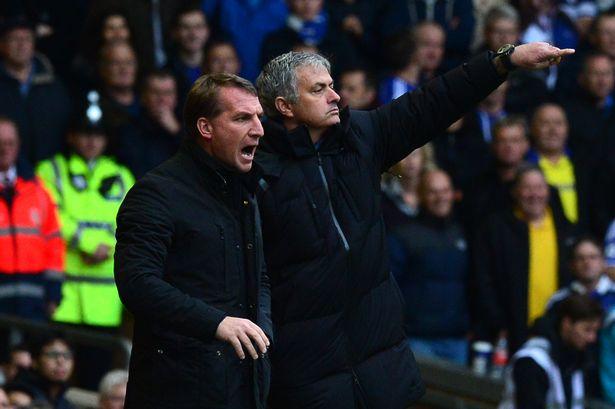 Mourinho và Rodgers từng gắn bó với nhau ở Chelsea