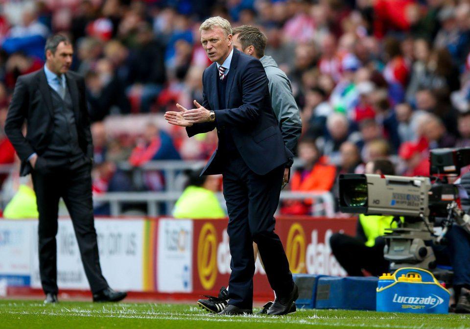 Sunderland của David Moyes đã rớt hạng
