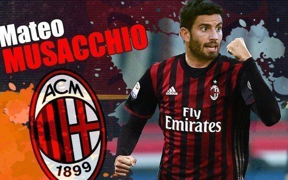 Musacchio là tân binh đầu tiên của Milan trong mùa hè này