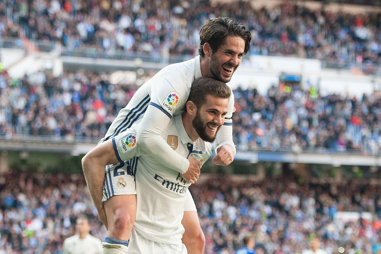 Bàn thắng của Nacho đánh dấu chuỗi 62 trận ghi bàn liên tiếp trên các đấu trường của Real Madrid