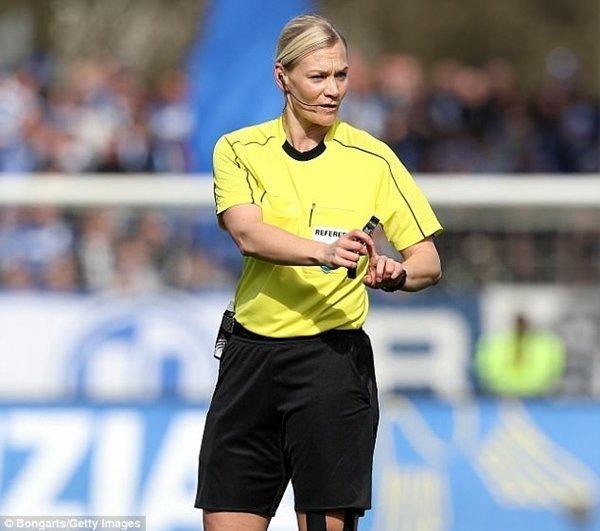 Bibiana Steinhaus trước đó làm việc ở Bundesliga 2