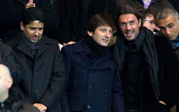 Maldini có mối quan hệ gần gũi với PSG