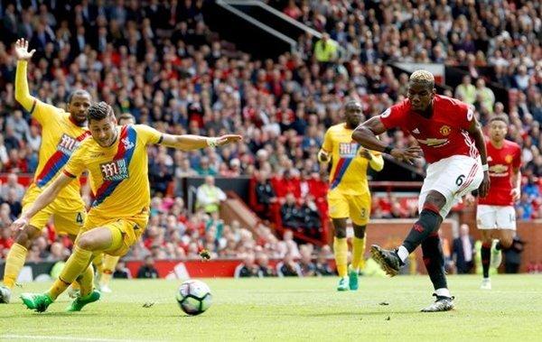 Tình huống ghi bàn thắng đẳng cấp của Paul Pogba vào lưới Crystal Palace