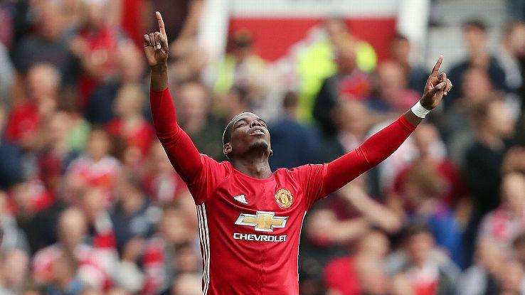 Pogba đến Man United với giá kỷ lục