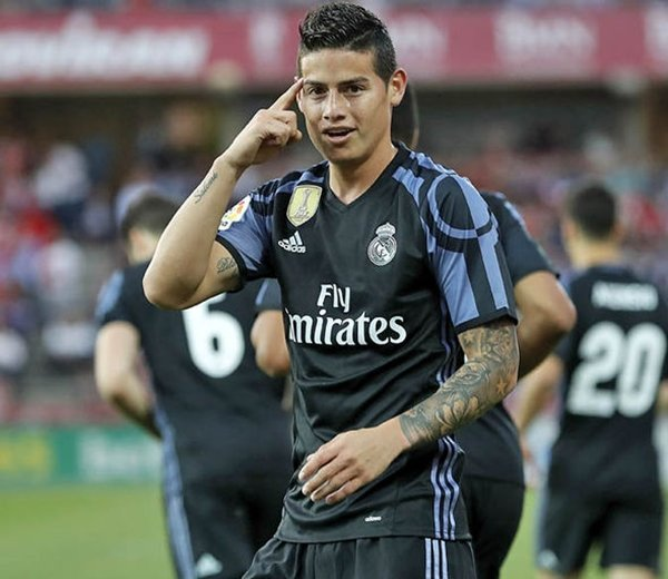 Real Madrid sẽ để James Rodriguez rời Santiago Bernabeu trong mùa hè năm nay
