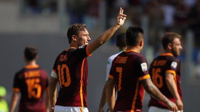 Roma hướng đến trận đấu trọn vẹn trong ngày chia tay Francesco Totti và HLV Luciano Spalletti