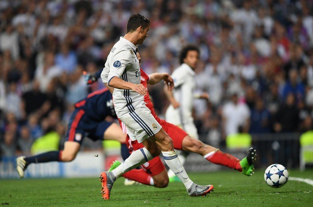 Với bản năng săn bàn, Ronaldo đang ghi rất nhiều bàn thắng trong vòng cấm
