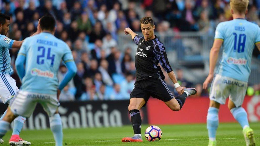 Ronaldo ghi bàn mở tỷ số ngay từ phút thứ 10