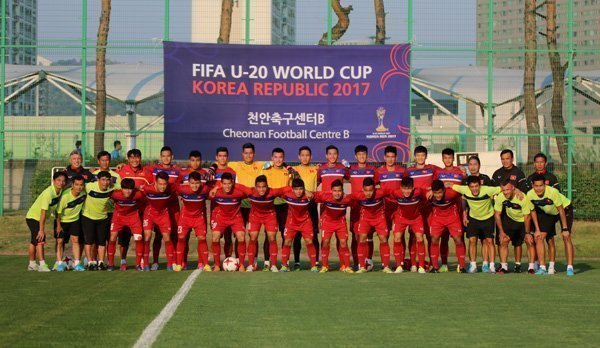 U20 Việt Nam chính thức hòa nhịp vào guồng quay U20 World Cup 2017