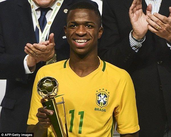 Vinicius đã gây ấn tượng mạnh tại giải trẻ U-17 World Cup