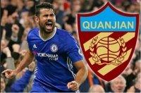 """Đội bóng của Trung Quốc đạt được thỏa thuận """"bom tấn"""" với Costa"""